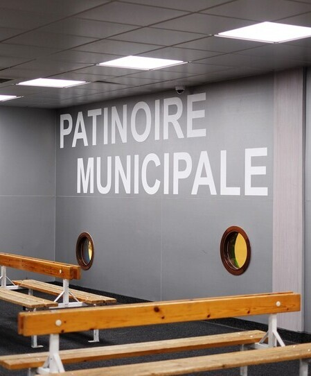 thumbnail: Patinoire Municipale - Courbevoie