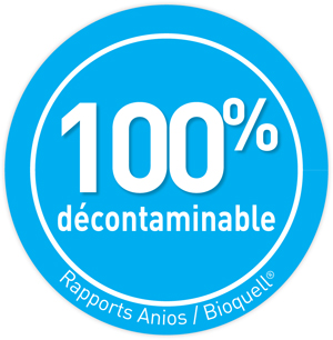 PICTO 100 DECONTAMINABLE